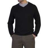Men's Cafenisto V Neck Sweater