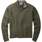 Mens Lodge 1/4 Zip Sweater