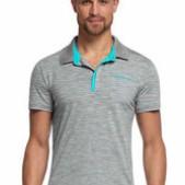 Men's Quattro Short Sleeve Polo Stripe