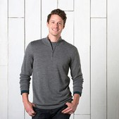 Men's Rasmus Merino 1/4 Zip Sweater