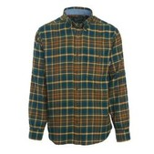 Men's Trout Run Plaid Flannel Shirt