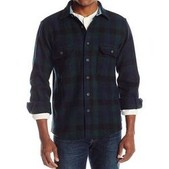 Mens Wool Buffalo Shirt