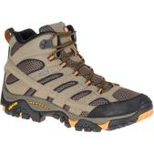 Merrell Men's Moab 2 Mid Gore-Tex Hiking Boots, Walnut - Size 8