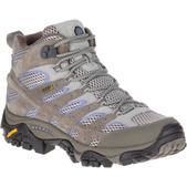 Merrell Women's Moab 2 Mid Waterproof Hiking Boots, Falcon - Size 10