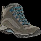 MERRELL Women's Siren Waterproof Mid Leather Hiking Boots