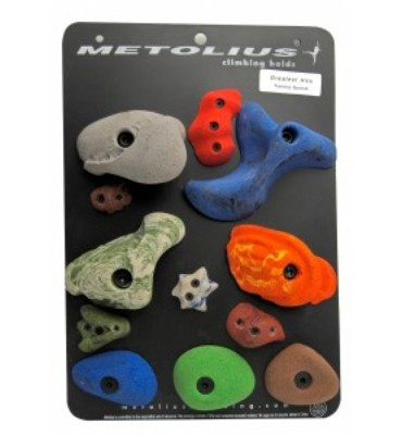 Metolius Bouldering 12 Pack  Climbing Holds