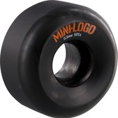 Mini Logo A-Cut Black Skateboard Wheels - 53mm 101a (Set of 4)