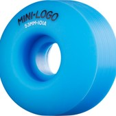 Mini Logo C-Cut Blue Skateboard Wheels - 53mm 101a (Set of 4)