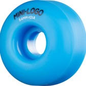 Mini Logo C-Cut Blue Skateboard Wheels - 54mm 101a (Set of 4)
