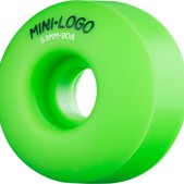 Mini Logo C-Cut Hybrid Green Skateboard Wheels - 53mm 90a (Set of 4)