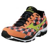 Mizuno Wave Elixir 8 Road Running Shoe - Men's - D Width Size 9.5-D Color Orange/Lime