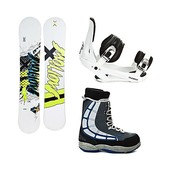 Morrow Radium Snowboard Package