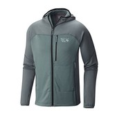 Mountain Hardwear Desna(TM)  Grid Hooded Jacket - Men's