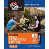Mountain House Homestyle Chicken Noodle Casserole ( Serves 3 )