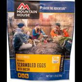 Mountain House Scrambled Eggs with Bacon - Single Serving