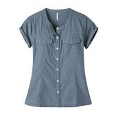 Mountain Khakis Amie Indigo Short Sleeve Shirt - Women's