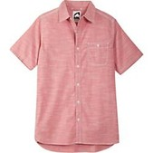Mountain Khakis Mens Mountain Chambray Short Sleeve Shirt - New