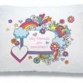 """""""My friends are Awesome!"""" Camp Autograph Pillowcase"""