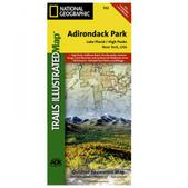 NAT GEO Adirondack Park Map, Lake Placid/High Peaks