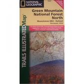 NAT GEO Green Mountains Central Map