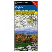 NAT GEO Virginia Guide Map