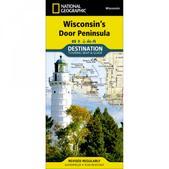 National Geographic Maps Destination Travel Map: Wisconsin's Door Peninsula