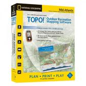 National Geographic Topo! Mid-Atlantic Mapping Software