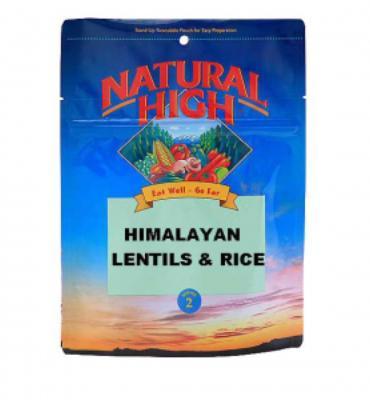 Natural High Himalayan Lentils and Rice