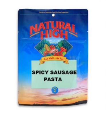 Natural High Spicy Sausage Pasta