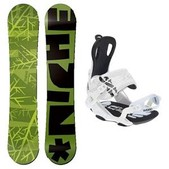 Niche Knew and Weird Snowboard and Binding Package