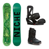 Niche Theme Seem Complete Snowboard Package