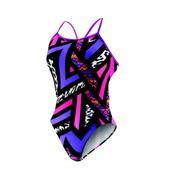Nike POW! Modern Lingerie Tank Swimsuit - Women's Size 40 Color BrightGrape