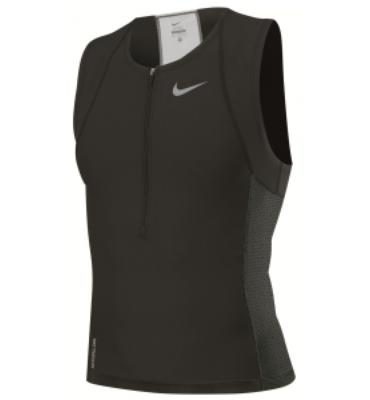 Nike Sleeveless Triathlon Top - Men's Size L Color Stealth
