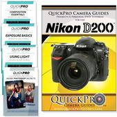 Nikon D200 DVD 5 Pack Intermediate Plus Instructional Bundle
