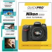 Nikon D300 DVD 4 pack Intermediate Instructional Manual Bundle