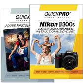 Nikon D300s DVD 2 Pack Adobe Instructional User Manual Bundle