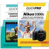 Nikon D300s DVD 2 Pack Composition Instructional Manual Bundle