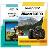 Nikon D3100 DVD 2 Pack Composition Instructional Manual Bundle