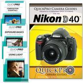 Nikon D40 DVD 4 pack Intermediate Instructional Manual Bundle