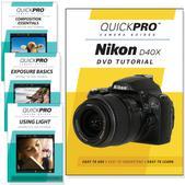 Nikon D40x DVD 4 pack Intermediate Instructional Manual Bundle