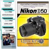 Nikon D50 DVD 5 Pack Intermediate Plus Instructional Bundle