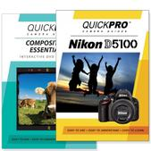 Nikon D5100 DVD 2 Pack Composition Instructional Manual Bundle