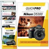 Nikon D5300 5PK DVDs Motion and Light Plus Photoshop Training Bundle