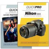 Nikon D60 DVD 2 Pack Adobe Instructional User Manual Bundle