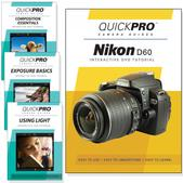 Nikon D60 DVD 4 pack Intermediate Instructional Manual Bundle