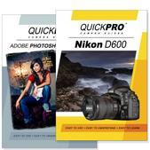 Nikon D600 DVD 2 Pack Adobe Instructional User Manual Bundle
