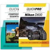Nikon D600 DVD 2 Pack Composition Instructional Manual Bundle