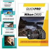 Nikon D600 DVD 4 pack Intermediate Instructional Manual Bundle