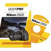 Nikon D600 DVD Instructional Training Guide