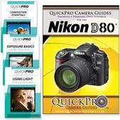 Nikon D80 DVD 4 pack Intermediate Instructional Manual Bundle